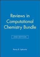 Reviews in Computational Chemistry Bundle PDF