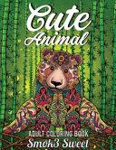 Cute Animal Coloring Book Book