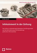 Infotainment in der Zeitung PDF