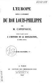 L'Europe depuis l'avènement du roi Louis-Philippe: Volume7