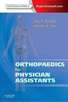 Orthopaedics for Physician Assistants PDF