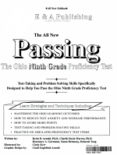Passing the Ohio Ninth Grade Proficiency Test