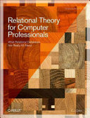 Relational Theory for Computer Professionals PDF