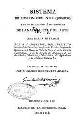 Sistema de los conocimientos químicos y de sus aplicaciones a los fenómenos de la naturaleza y del arte: Volumen 8