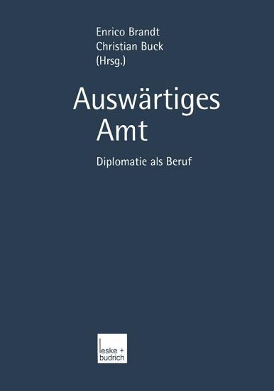 Ausw  rtiges Amt PDF
