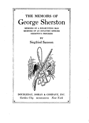 The Memoirs of George Sherston PDF