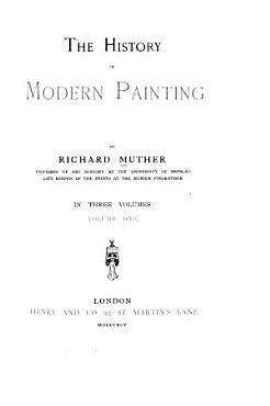 The History of Modern Painting PDF