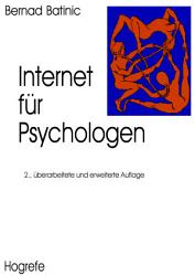 Internet f  r Psychologen PDF