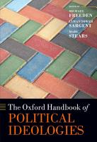 The Oxford Handbook of Political Ideologies PDF