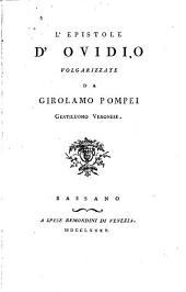 L'epistole d'Ovidio