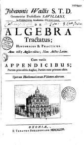 Johannis Wallis,... Opera mathematica