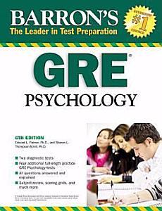Barron s GRE Psychology Book