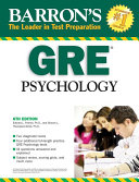 Barron s GRE Psychology Book