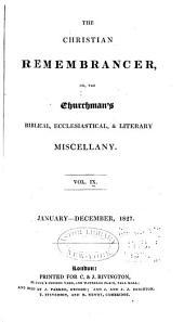 The Christian Remembrancer: Volume 9