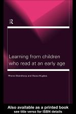 Learning From Children Who Read at an Early Age