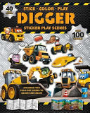 Digger Sticker: Play Scenes