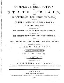 Complete Collection Of State Trials