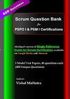 Scrum Question Bank PDF