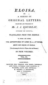 Eloisa: Or a Series of Original Letters, Volume 3