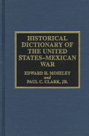Historical Dictionary of the United States Mexican War PDF