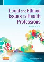 Legal and Ethical Issues in Health Occupations   E Book PDF