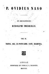 P. Ovidius Naso: Volume 3