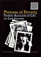 Pictures of Poverty  twelve accounts of life on a low income PDF