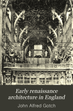 Early Renaissance Architecture in England