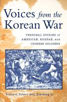 Voices from the Korean War PDF