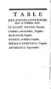 Poëmes dramatiques de T. Corneille: Volume3