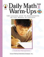 Daily Math Warm Ups  Grade 4 PDF