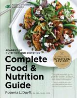 Academy of Nutrition and Dietetics Complete Food and Nutrition Guide  5th Ed PDF