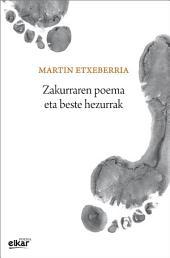 Zakurraren poema eta beste hezurrak
