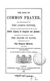 The Book of common prayer ... slightly altered from that in use in the united Church of England and Ireland