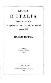 Storia d'Italia continuata da quella del Guicciardini sino al 1789--: Volume 1,Parte 1