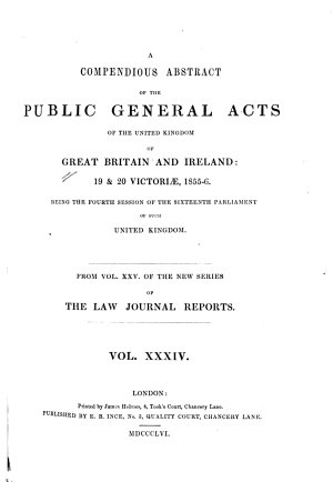 The Public General Acts