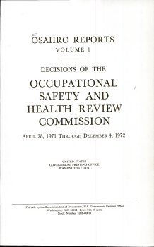 Decisions and Orders of the Occupational Safety and Health Review Commission PDF