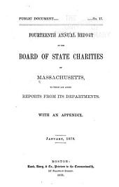Annual Report of the Board of State Charities: Volume 14