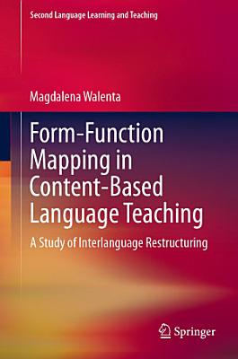 Form Function Mapping in Content Based Language Teaching PDF