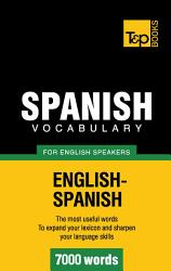 Spanish Vocabulary For English Speakers 7000 Words Book PDF