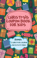 Christmas Coupon Book for Kids   Bonus 23 Christmas Coloring and Activity Pages PDF