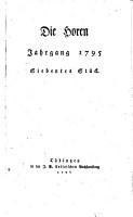 Die Horen  eine Monatsschrift PDF