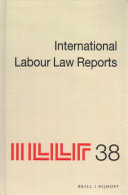 International Labour Law Reports  Volume 38 PDF