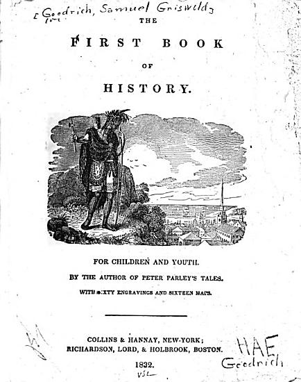 The First Book of History for Children and Youth PDF