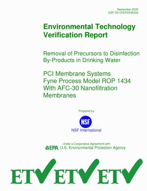 Removal of Precursors to Disinfection ByProducts in Drinking Water