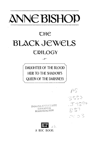 The Black Jewels Trilogy