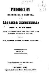 Introduccion histórica y crítica a la Sagrada Escritura: (346 p.)