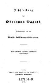 Beschreibung des Oberamts Ragold: Band 42