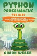 Python Programming for Kids Book
