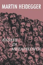 Essays in Metaphysics: Identity and Difference
